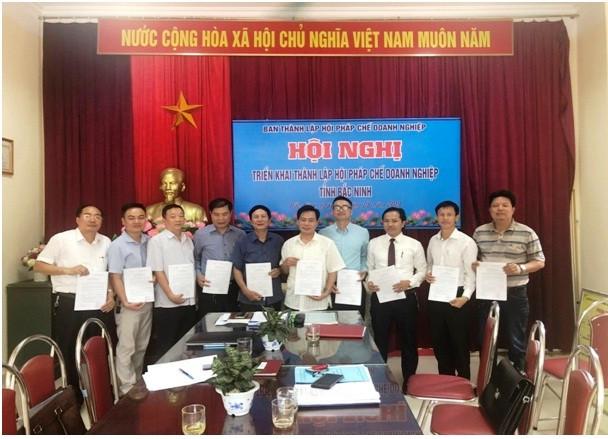 Ra mắt Ban vận động thành lập Hội pháp chế doanh nghiệp tỉnh Bắc Ninh