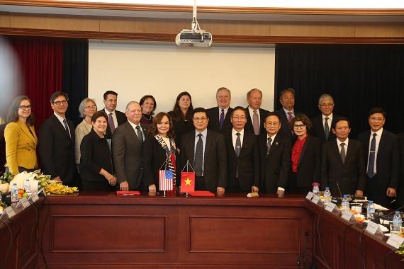 Lễ ký Thỏa thuận hợp tác giữa LĐLSVN và ABA