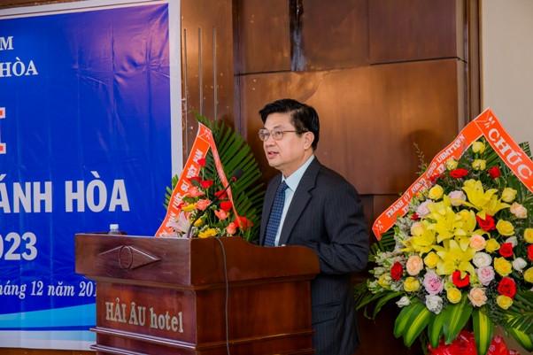 TS.LS. Đỗ Ngọc Thịnh, Chủ tịch Liên đoàn Luật sư Việt Nam phát biểu tại Đại hội