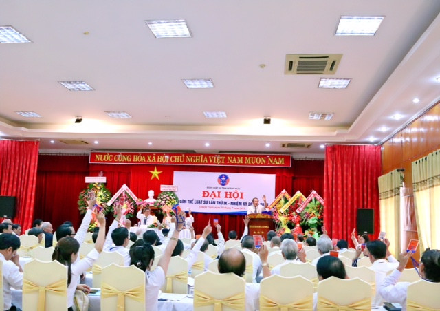 Quang cảnh Đại hội của ĐLS tỉnh Quảng Ngãi
