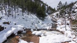 snow pools