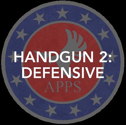Defensive Handgun (Handgun 2)