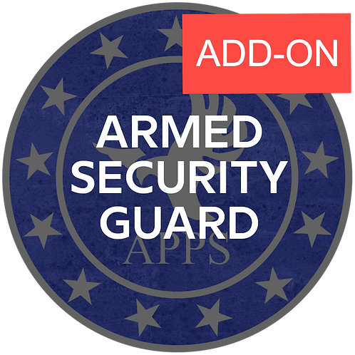 ADD-ONS For Armed Guard Course