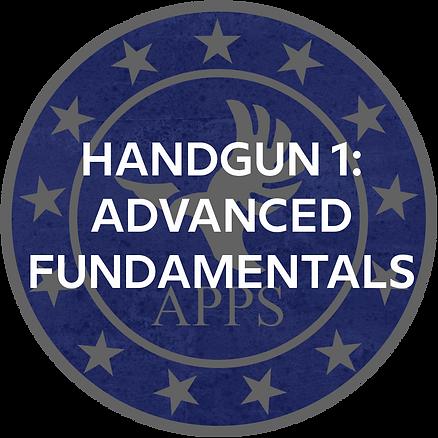 Advanced Handgun Fundamentals (Handgun 1)