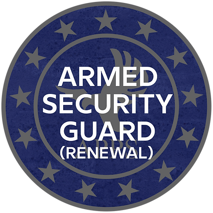 Armed Security Guard Recertification