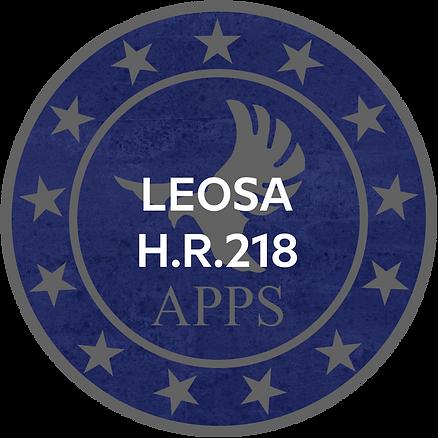 LEOSA H.R.218