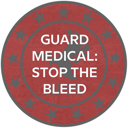 Security Guard Medical: Stop The Bleed Course