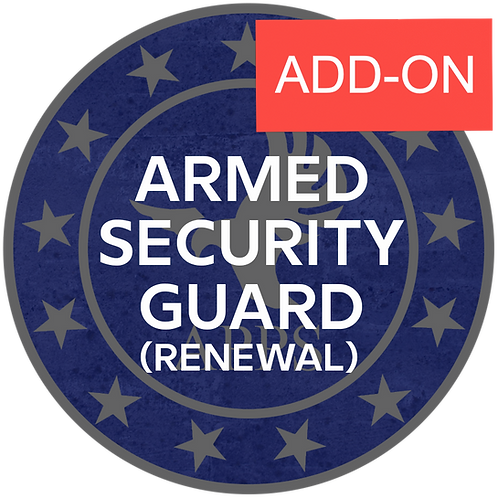 MEDICAL ADD-ON For Armed Guard Renewal Course