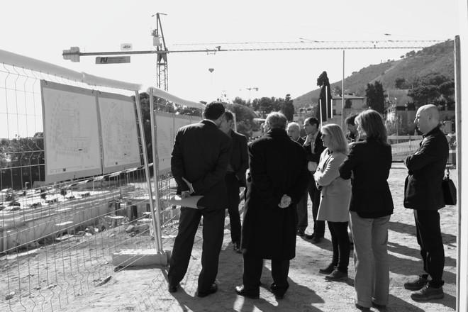 Acto de inauguración de la Primera Piedra de las nuevas instalaciones de l'Escola Betània Patmos