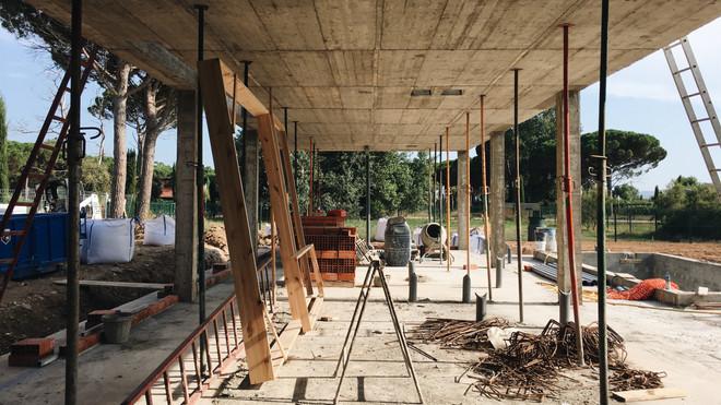 En construcción: vivienda unifamiliar en l'Empordà