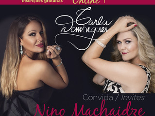 MASTERCLASS - Carla recebe NINO MACHAIDZE