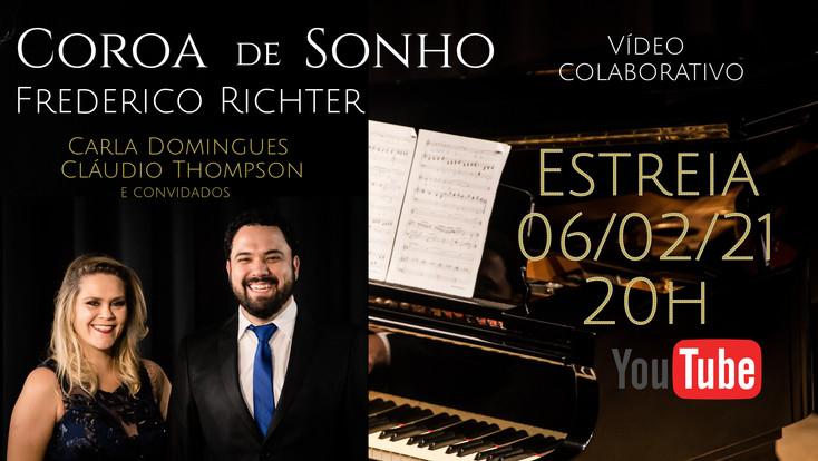 Carla estreia A COROA DE SONHO (F. Richter)