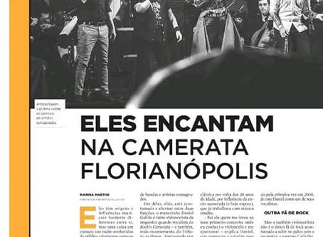 Diário Catarinense: Carla na Capa!