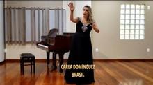 Carla é premiada no I FESTIVAL INTERNACIONAL DE CANTO VERONICA VILLARROEL