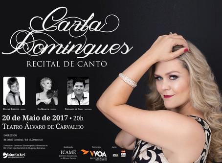 Carla apresenta Recital!
