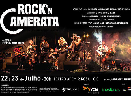 Rock'n Camerata Inverno 2017!!!