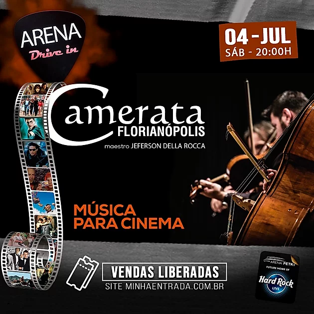 Música para Cinema - Camerata no Arena Drive In