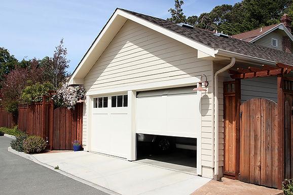 half open garage door,  easy home security tips, efficient home security, increase home security, how to keep your home safe