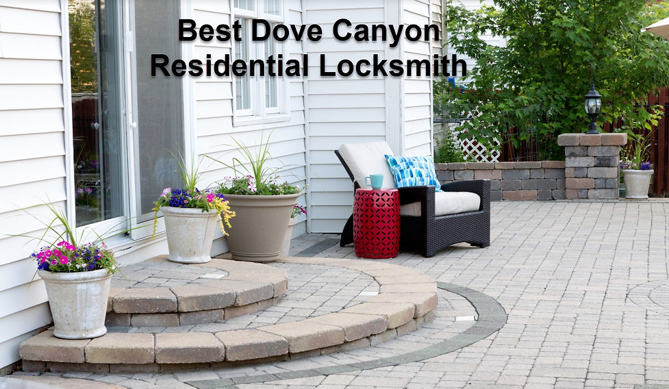 Best Dove Canyon Residential Locksmith