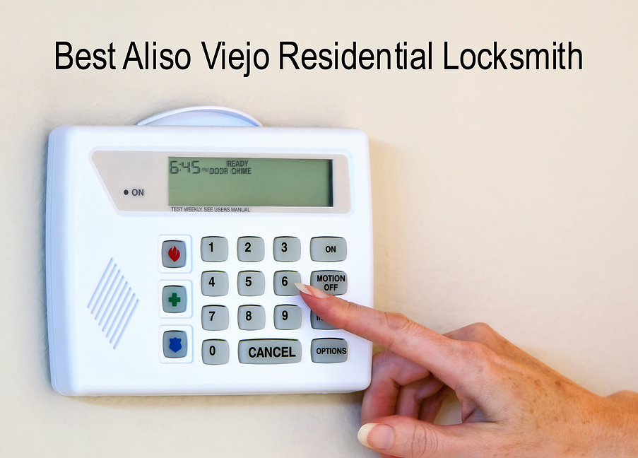 Best Aliso Viejo Residential Locksmith