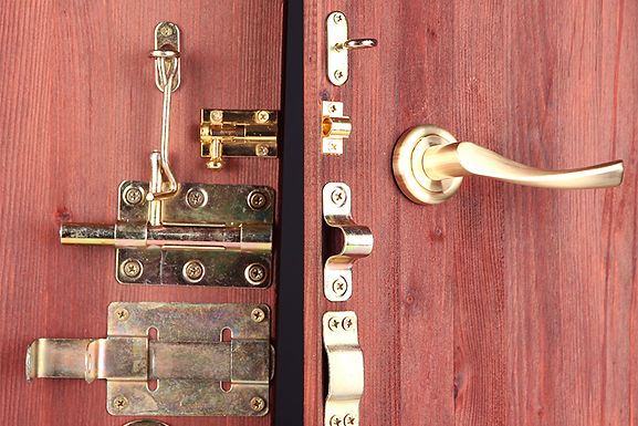 door with many locks,  easy home security tips, efficient home security, increase home security, how to keep your home safe