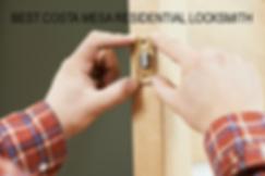 Best Costa Mesa Residential Locksmith