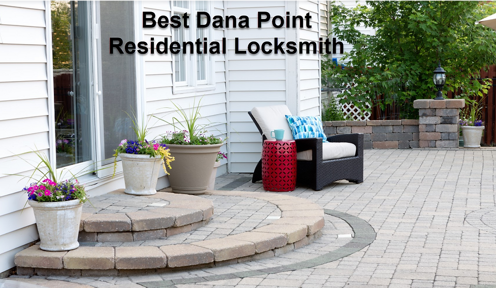 Best Dana Point Residential Locksmith