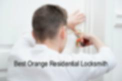 Best Orange Residential Locksmith