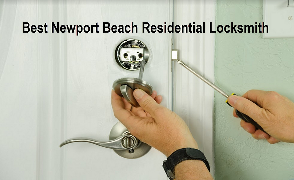 Best Newport Beach Residential Locksmith