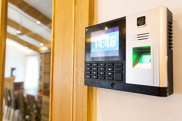 cloud based access control system keypad