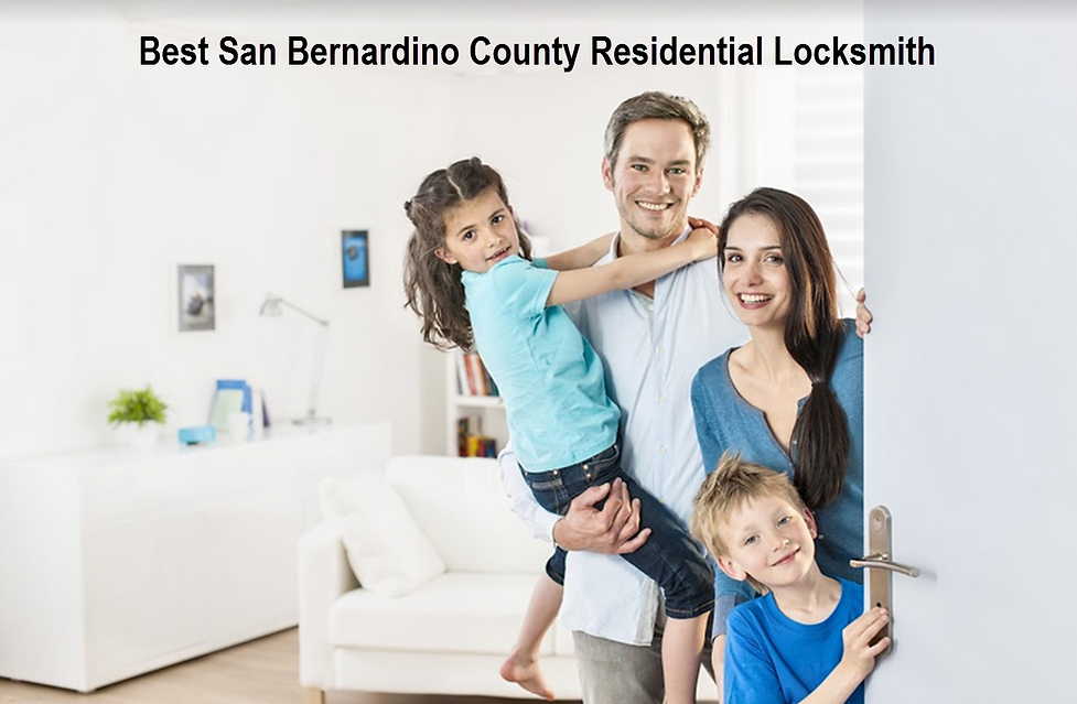 Best San Bernardino County Residential Locksmith