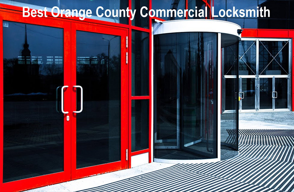 Best Orange County Commercial Locksmith
