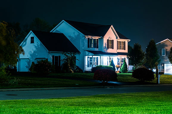 house at night, prevent lock bumping, what is lock bumping, prevent home theft, prevent lock picking, about lock bumping
