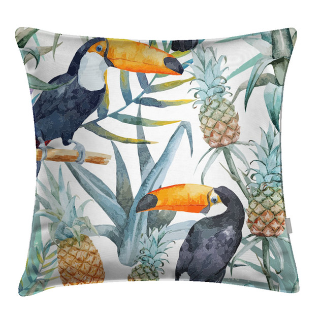 Bird Print Pillow
