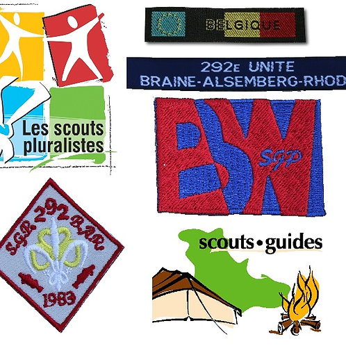 KIT INSIGNES SCOUT/GUIDE