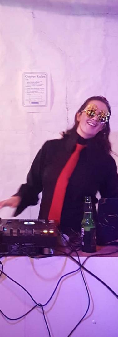 DJ at Star Shitty AGM _ Alli Sebastian W