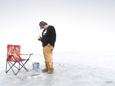 Ice Boy Pole And Chair