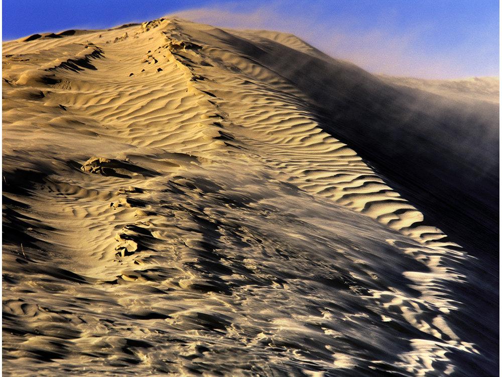 Windy Sand Dune