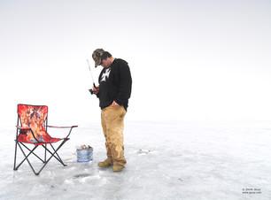 Ice Hole Fishing