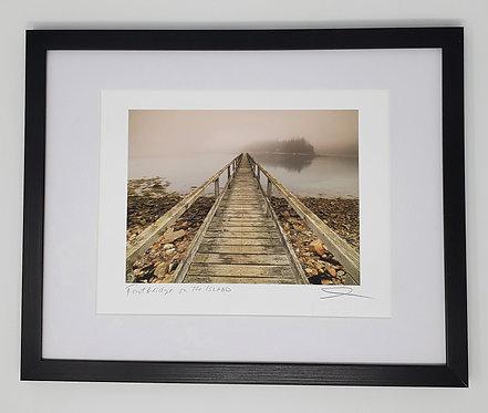Footbridge To The Island 12x15
