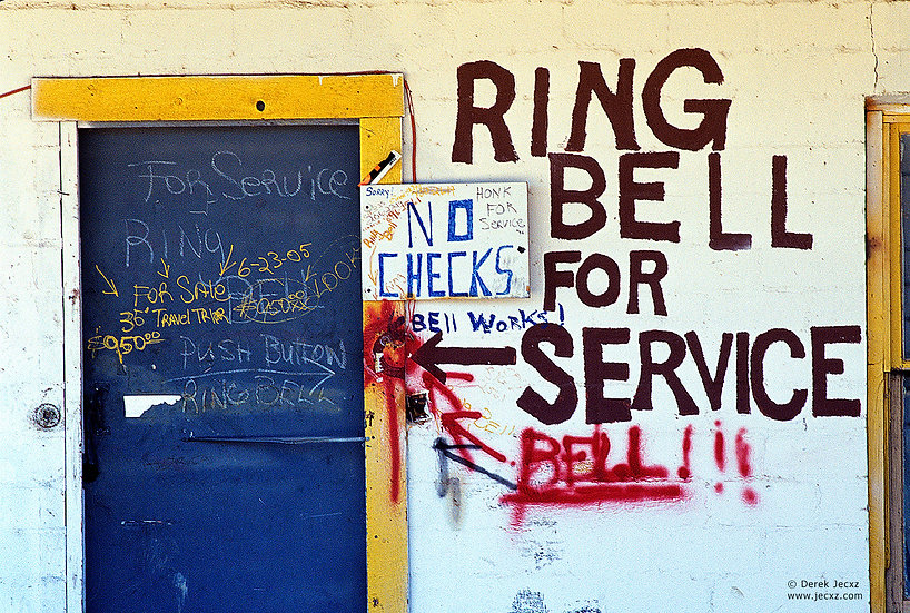 Ring Bell For Service