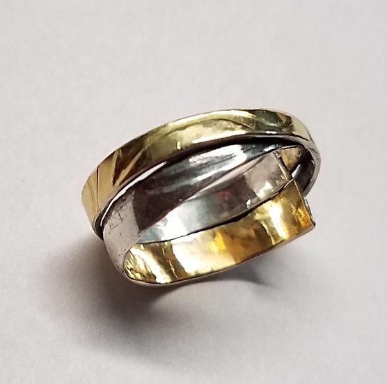 Bimetal Twist Ring
