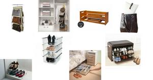 Organização guarda-roupas - acessórios de organização