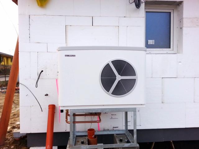 Tepelné čerpadlo instalované na RD