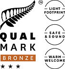 Qualmark 3 Star Bronze Award Logo Stacke