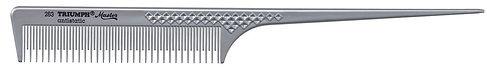 """Stielkamm Triumph silber/metallic 263   8.5"""""""
