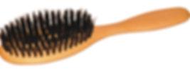 Haarbürste Buchenholz | Naturborsten 7 Reihen | Grösse 200x47mm