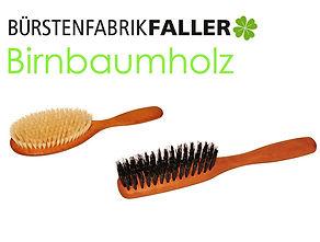 Apricore AG Faller Bürsten Birnbaumholz