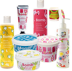 Bomb Cosmetics Body- & Face Products