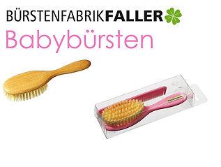 Apricore AG Faller Bürsten Babybürsten